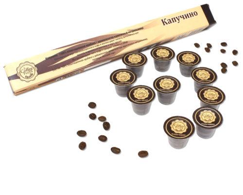 Кофе в капсулах — капучино
