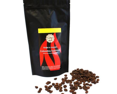 "Кофе в зернах ""Colombia Supremo"""