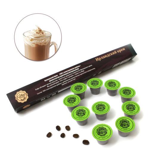 Купить кофе в капсулах Ирландский крем в Новосибирске
