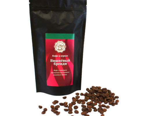 """Кофе в зернах """"Вишневый бренди"""" 100% арабика"""
