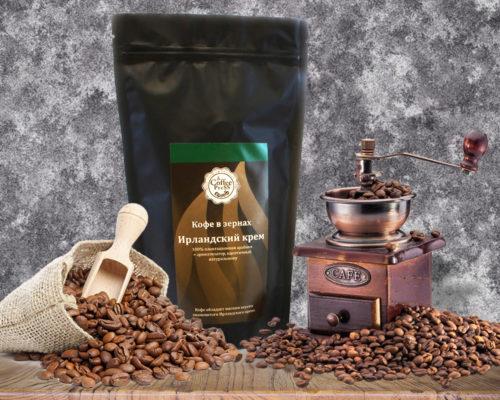 Купить кофе в зернах Индия Плантейшен в Новосибирске