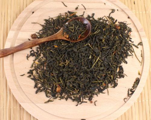 зеленый чай Клубника со сливками в Новосибирске
