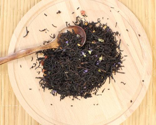 чай черный с добавками Брызги шампанского