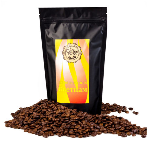 Зерновой кофе Вьетнам