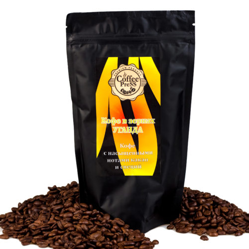 Зерновой кофе свежей обжарки Уганда CoffeePress в Новосибирске.